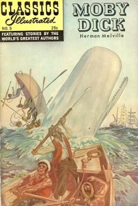 Classics Illustrated Moby Dick