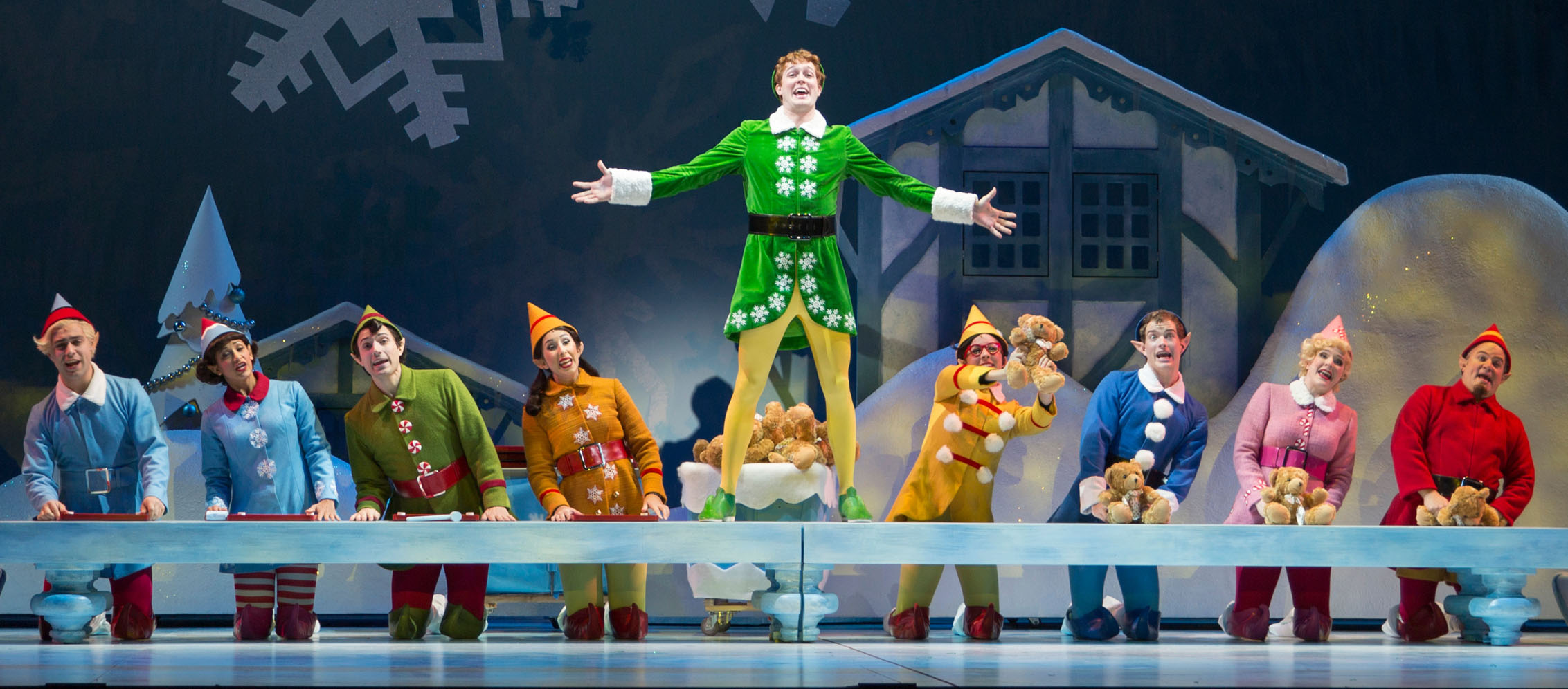 Theater Review Elf The Musical The Eclectic Dad